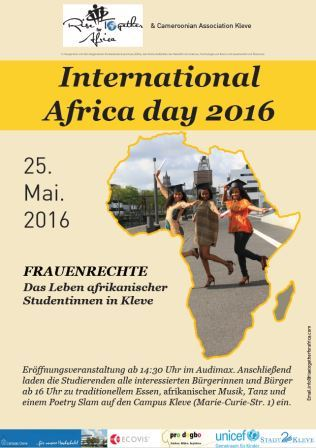 Flyer International Africa Day